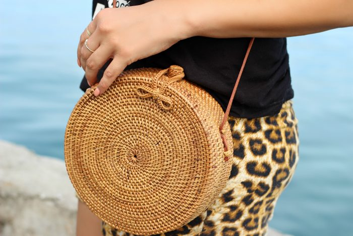 Classic Bali bag, Rattan bag, Bali