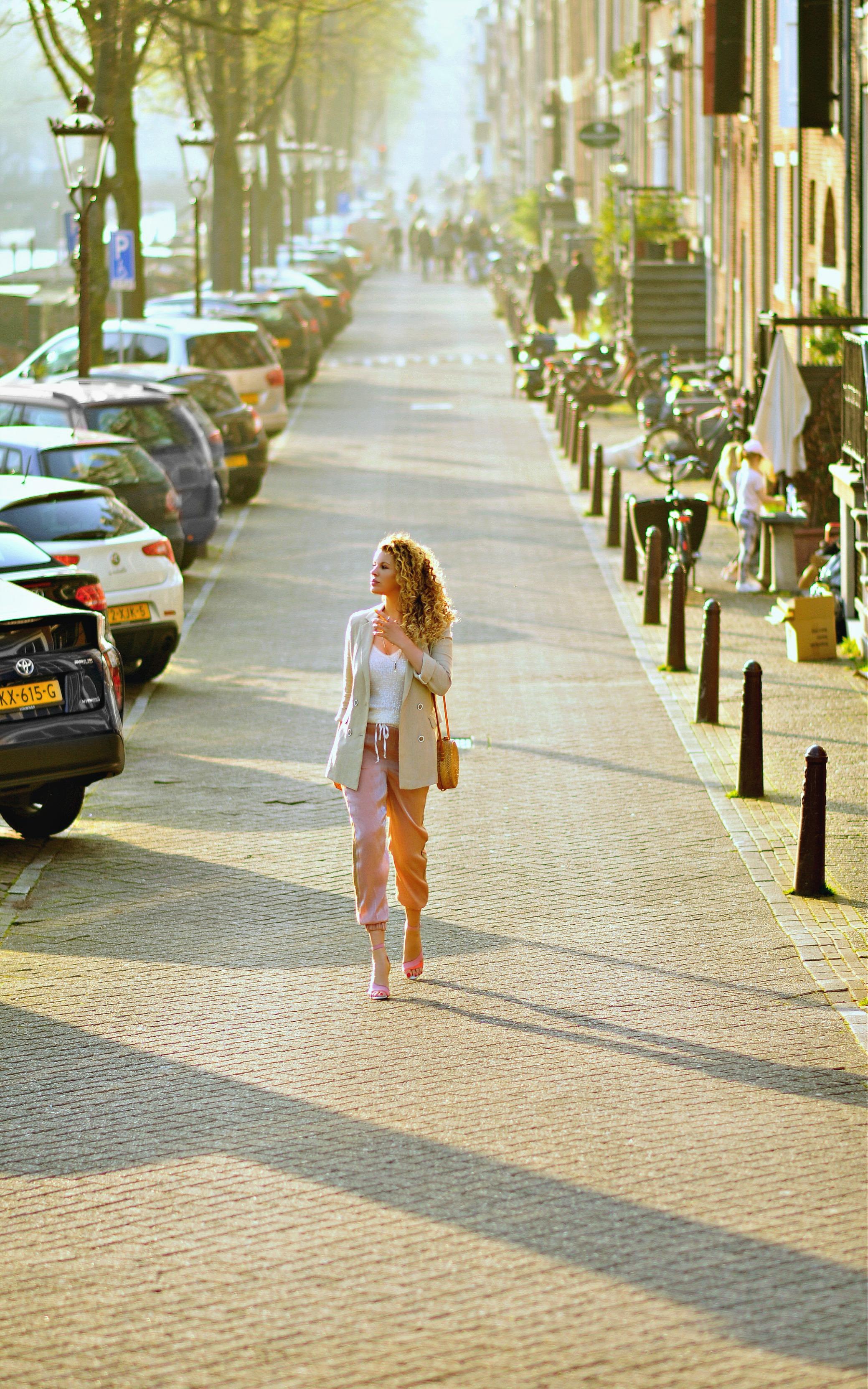 My Go-To Outfit For Spring, Tamara Chloé, Safari blazer, Bali bag6+2