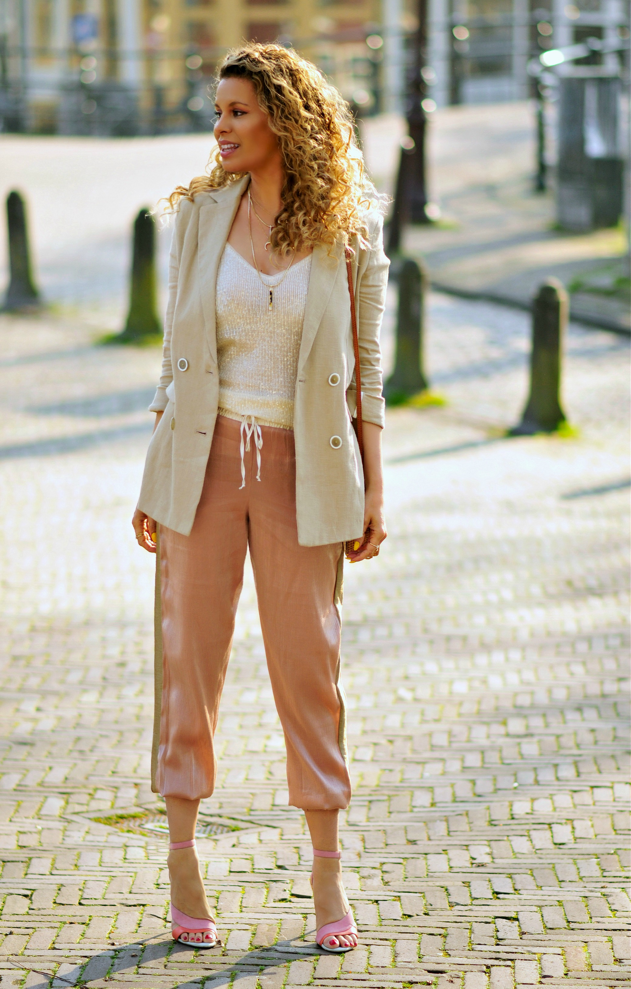 My Go-To Outfit For Spring, Tamara Chloé, Safari blazer, Bali bag8+2