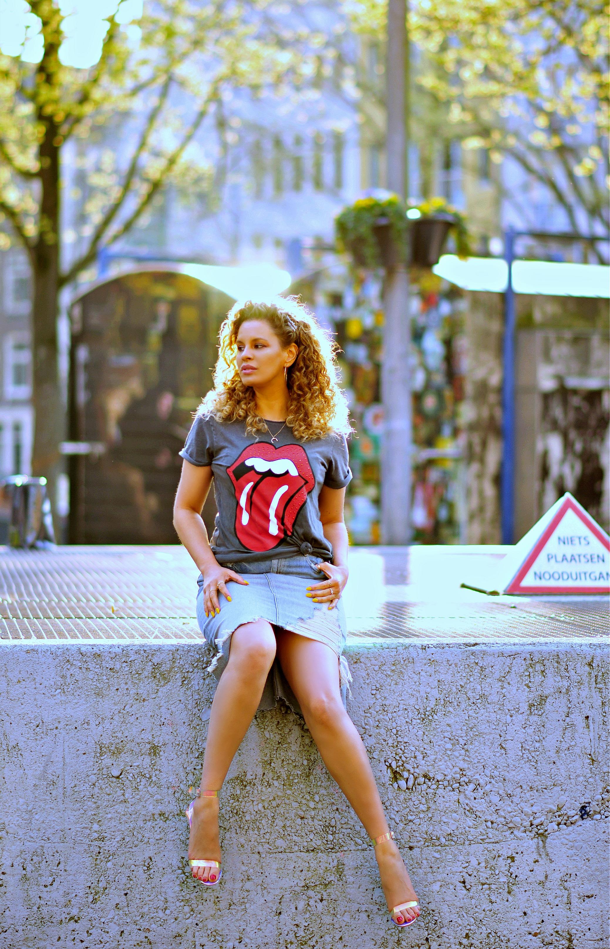 Rolling Stones Tee, tamara Chloé4+3