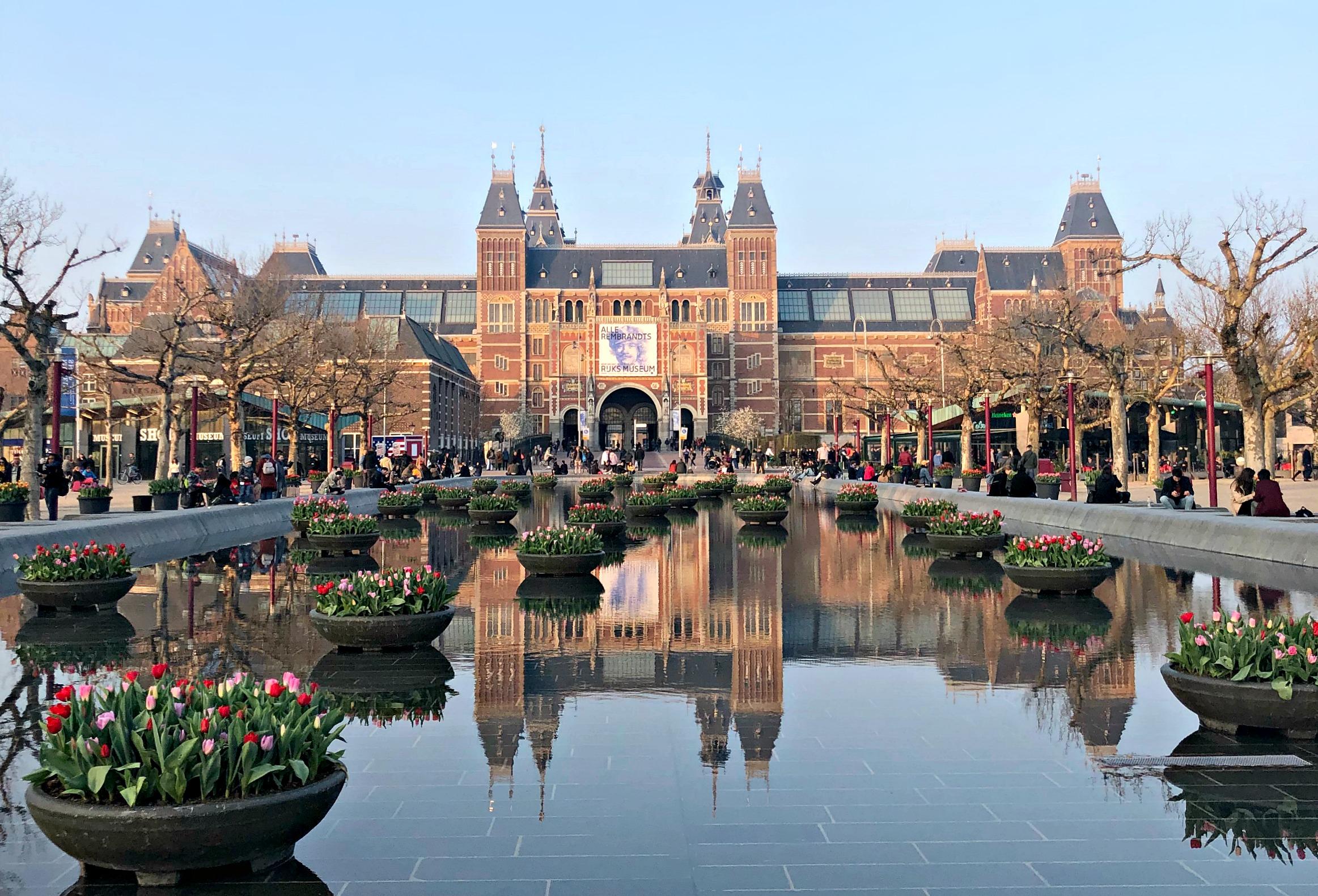 Tulips, Museum plein, Amsterdam2