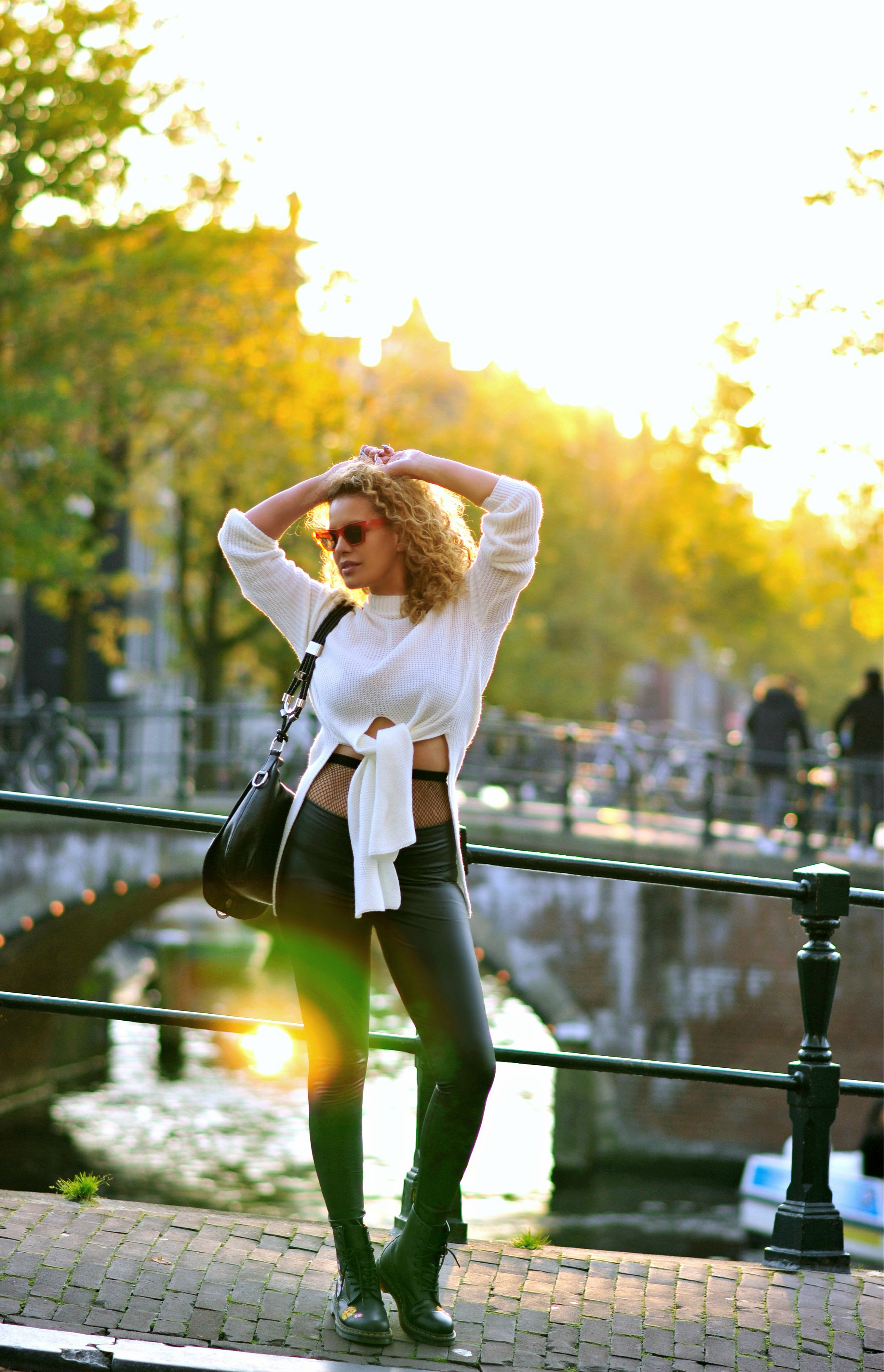 How I score high fashion on a low budget, Tamara Chloé, femme luxe finery, Gucci bag, Amsterdam Street style