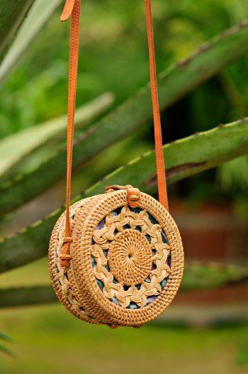 Round Pattern Bag, Bali bag
