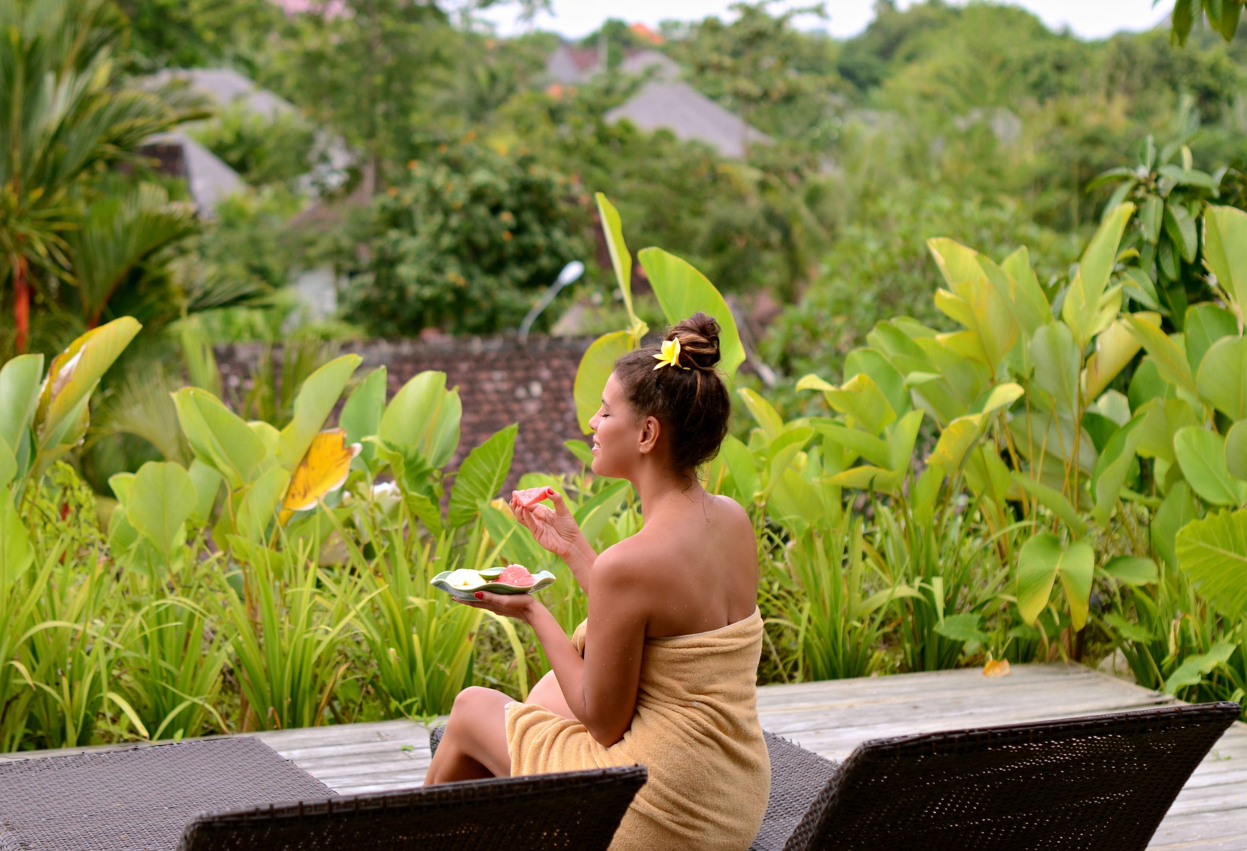 Tamara Chloé, Aqua Octaviana Hotel, Bali, Indonesia