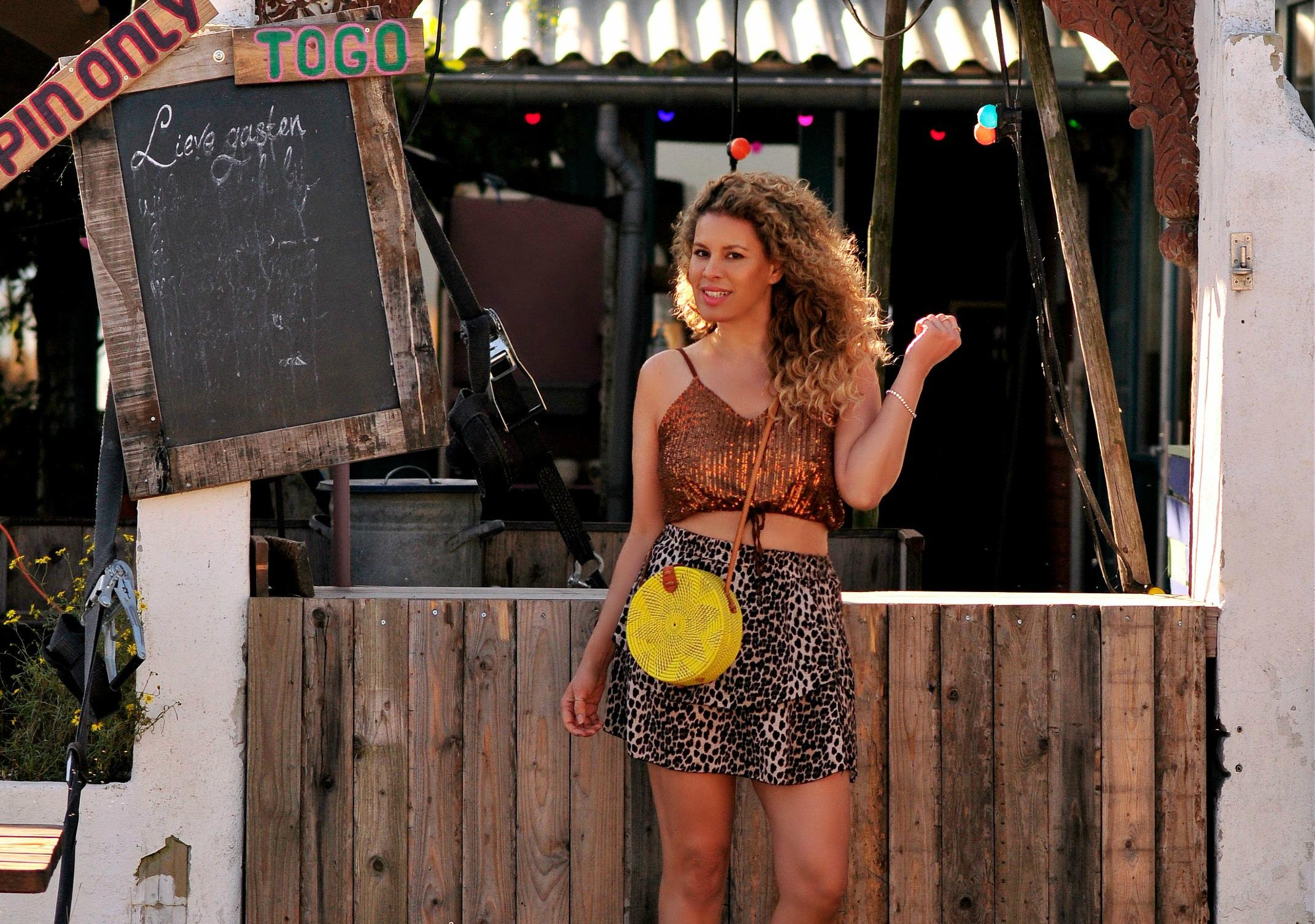 Tamara Chloé, Yellow Bali bag, Lola land, Blijburg 3